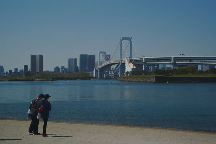 Beach At Odaiba