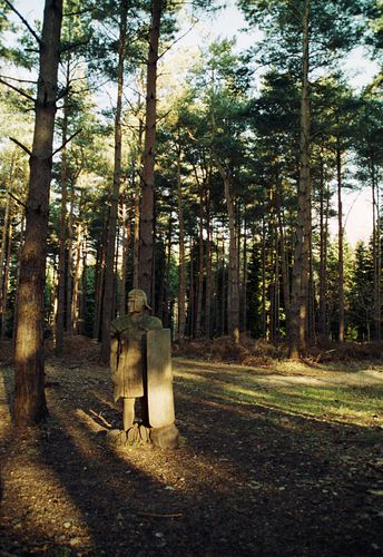 Broxbourne Wood - Centurion Carving