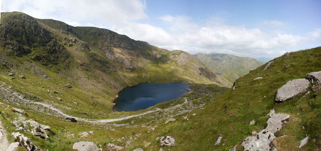 Coniston Old Man  - Low Water Wide