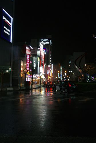 Kamata Night Time Rain 02