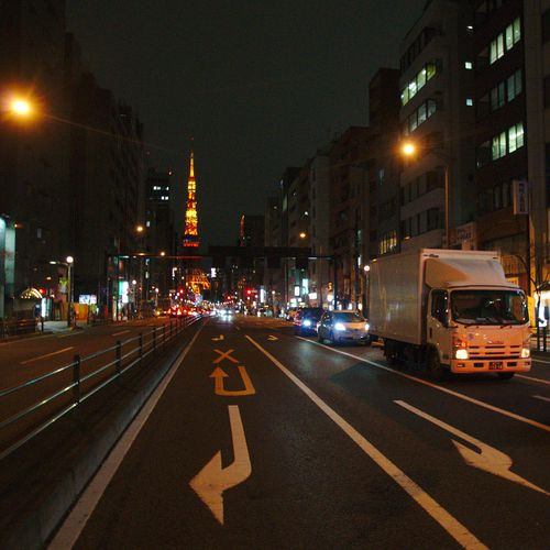 Minato City With Tokyo Tower 04
