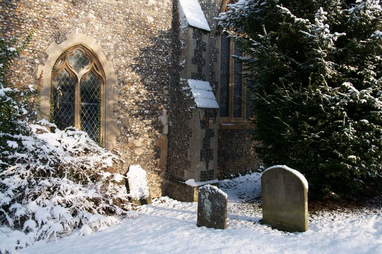 St Etheldreda In The Snow 3